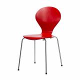 Stuhl Rondo, rot