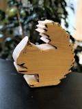 Holzfigur Eichhörnchen