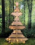 Weihnachtsbaum geschwungen groß